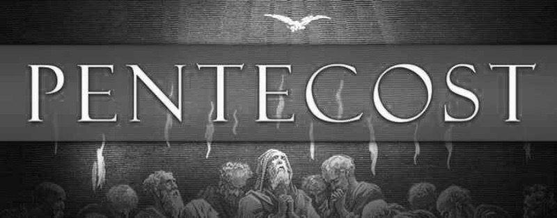 pentecost--b&w