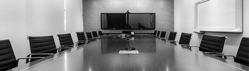 Board Room--b&w