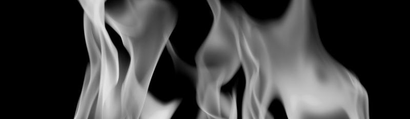 fire--bw